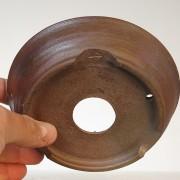 pot rond brun rouge - 02