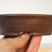 pot rond brun rouge - 03