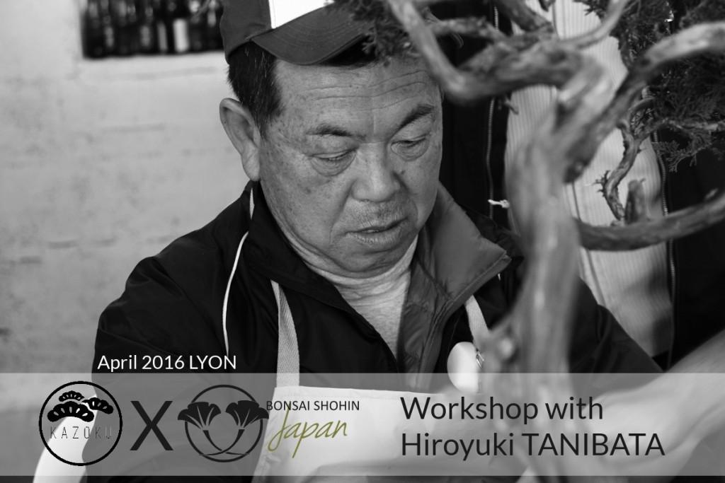 apprendre le bonsai avec un maitre japonais en France